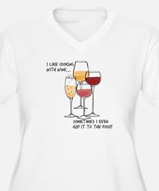 I like cooking with wine...sometimes I even add it