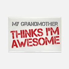 Grandmother Awesome Rectangle Magnet
