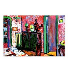 Kandinsky: Interior, My D Postcards (Package of 8)