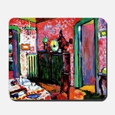 Kandinsky: Interior, My Dining Room Mousepad