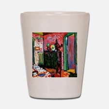 Kandinsky: Interior, My Dining Room Shot Glass