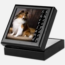 Sheltie - Shetland Sheepdog Keepsake Box