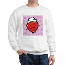 strawberries and cream sweatshirt