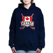 Canadian Hockey Shield Logo Hooded Sweatshirt