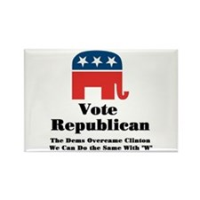 Vote Republican Rectangle Magnet
