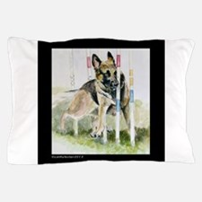 Funny Gsd Pillow Case