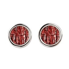 Got Meat? - Overlapping bacon pieces Cufflinks