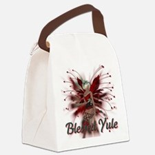 Blessed Yule Fairy Canvas Lunch Bag
