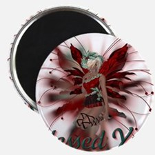 Blessed Yule Fairy Magnet