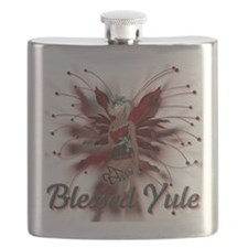 Blessed Yule Fairy Flask