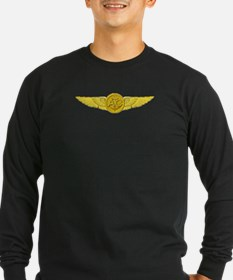 Wing_white_edited-1 Long Sleeve T-Shirt