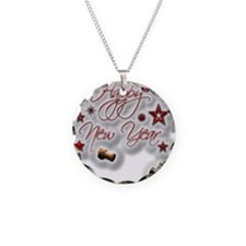 Happy New Year Necklace