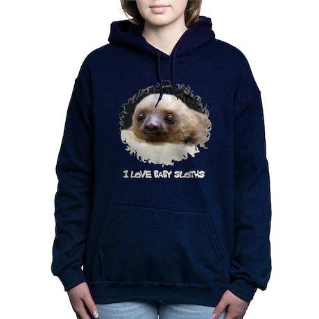 I LOVE BABY SLOTHS Hooded Sweatshirt