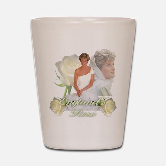 Princess Diana England's Rose Shot Glass