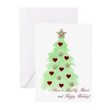 Heart Holiday Greeting Cards