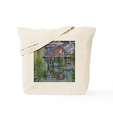 Yearling Buck Tote Bag