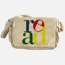 Read - Inspirational Education Messenger Bag