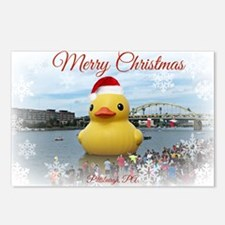 Christmas Duck Postcards (Package of 8)