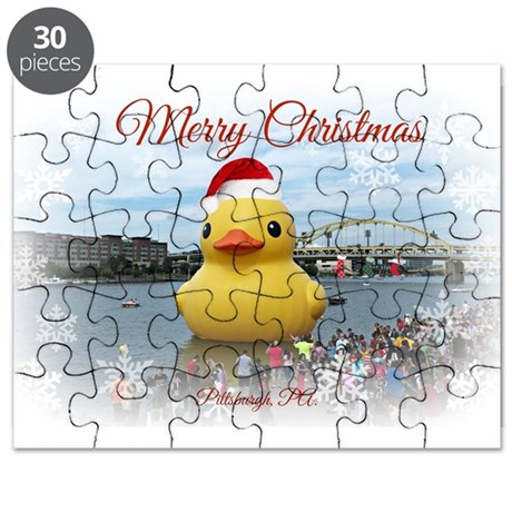 Christmas Duck Puzzle