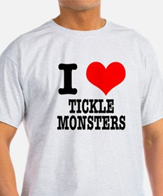 I Heart (Love) Tickle Monsters T-Shirt