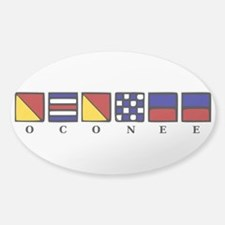 Nautical Sticker (Oval)