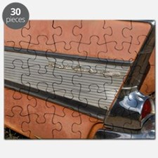 57 Bel air tail fin Puzzle