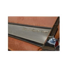57 Bel air tail fin Rectangle Magnet