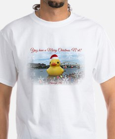 Pittsburgh Christmas Duck T-Shirt