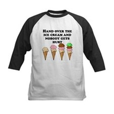 Hand Over The Ice Cream Baseball Jersey