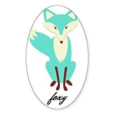 Teal Foxy  Decal