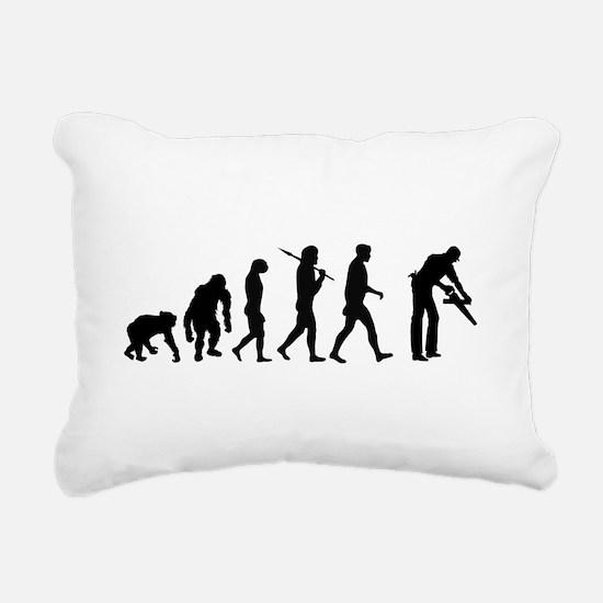 Carpenter Evolution Rectangular Canvas Pillow