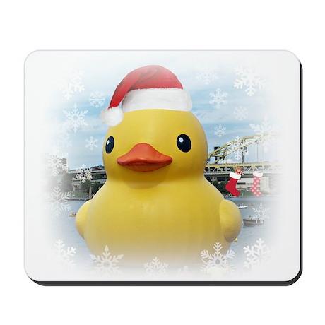 Santa Duck Mousepad
