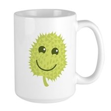Happy Durian cute fruit with a smile Mugs