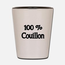100% Couillon Shot Glass