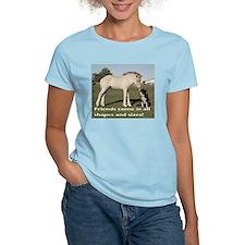 Fjord Horse Friends Ash Grey T-Shirt