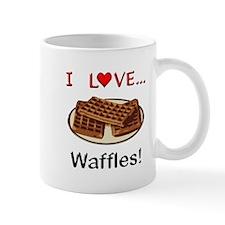 I Love Waffles Mug