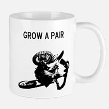 motocross grow a pair Mug
