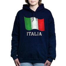 Italia Flag Hooded Sweatshirt