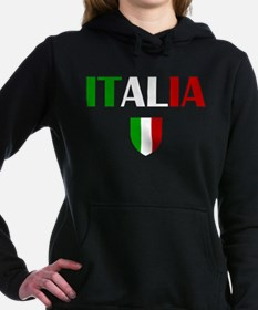 Italia Logo Hooded Sweatshirt