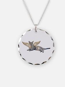 Kitten Wings Necklace
