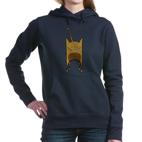 Chocolate Cat Hooded Sweatshirt