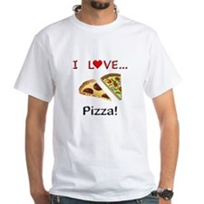 I Love Pizza Shirt