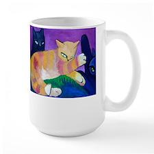 Cat Fight Mugs