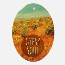 Gypsy Soul  Oval Ornament