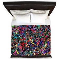 Drip Art King Duvet
