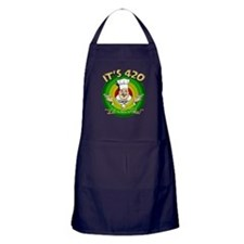 It's 420 Let's all Toke! Apron (dark)