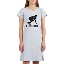 Football Women's Nightshirt