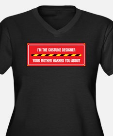 I'm the Costume Designer Women's Plus Size V-Neck