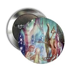 """Welcome to Fairyland 2.25"""" Button (10 pack)"""