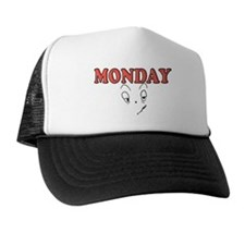 Monday FUNNY FACE Trucker Hat